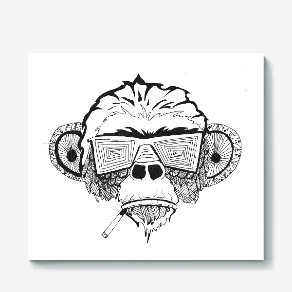 Холст «Monkey»
