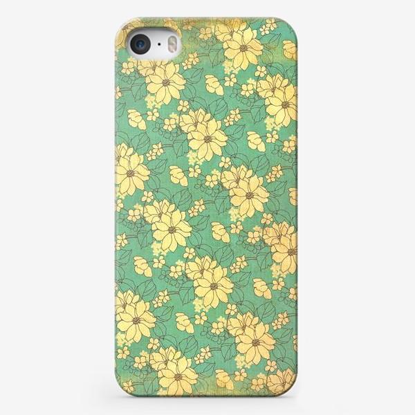 Чехол iPhone «Цветущий сад»