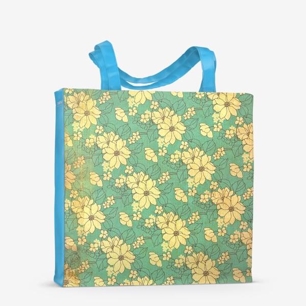 Сумка-шоппер «Цветущий сад»
