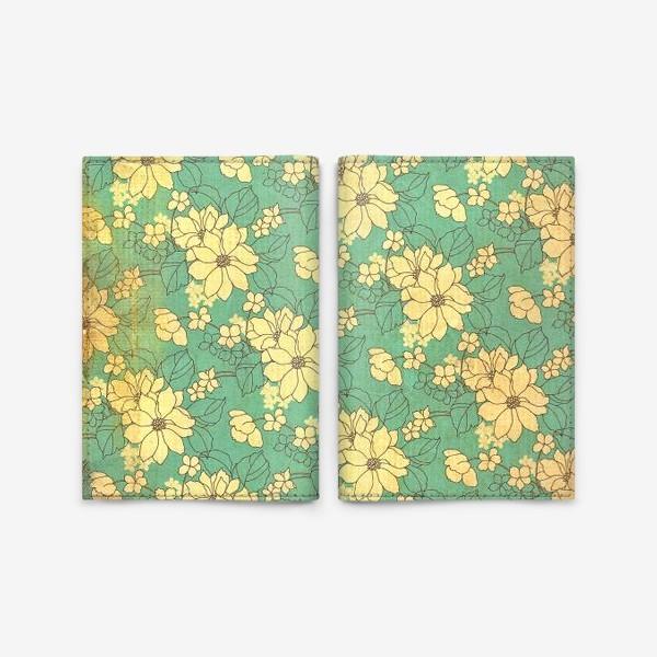 Обложка для паспорта «Цветущий сад»