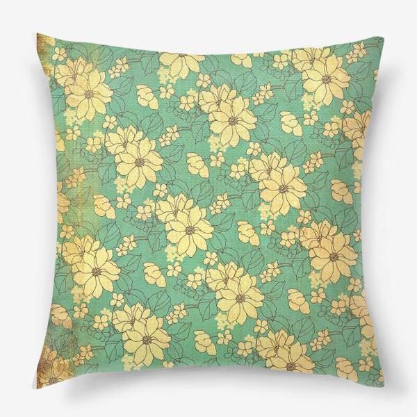 Подушка «Цветущий сад»