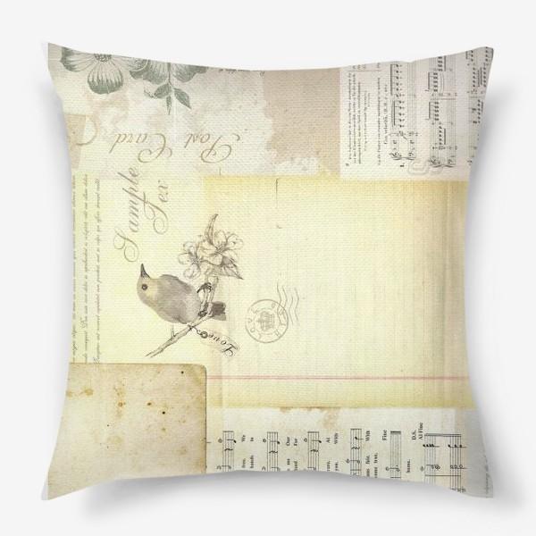Подушка «Зов прошлого»