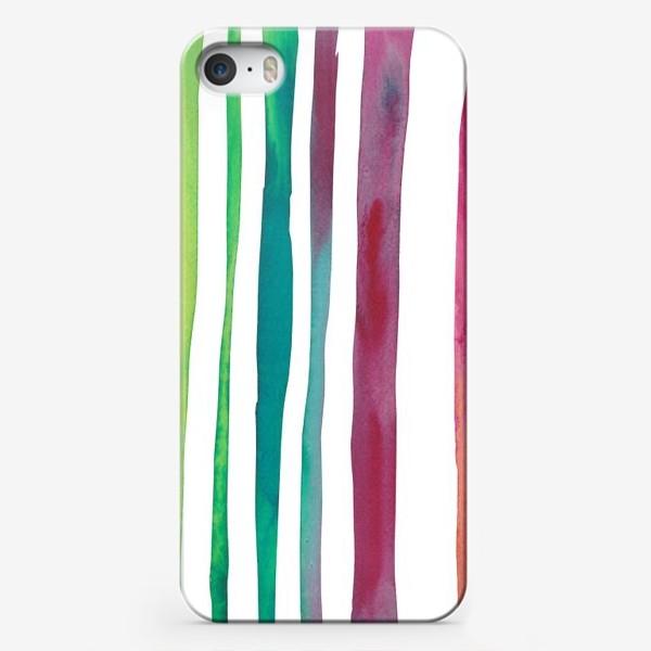 Чехол iPhone «Яркая полоса»