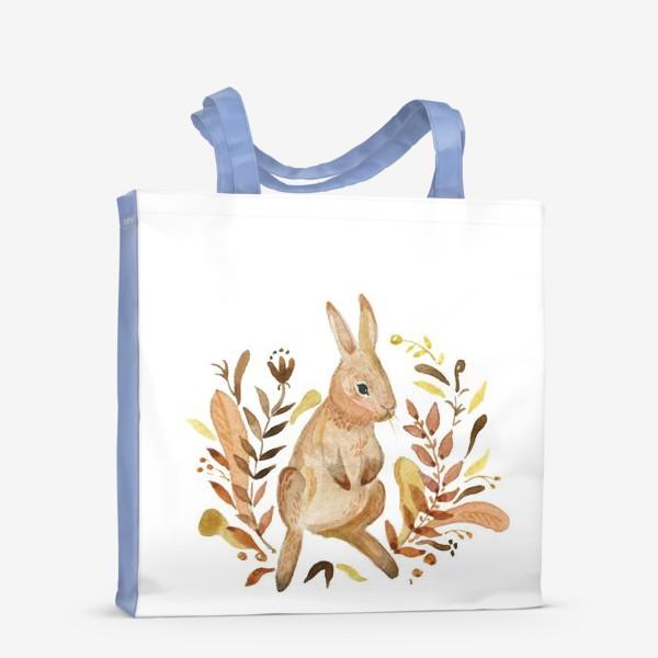 Сумка-шоппер «Кролик осенью»