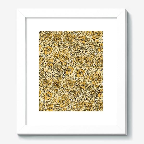Картина «Yellow flowers»