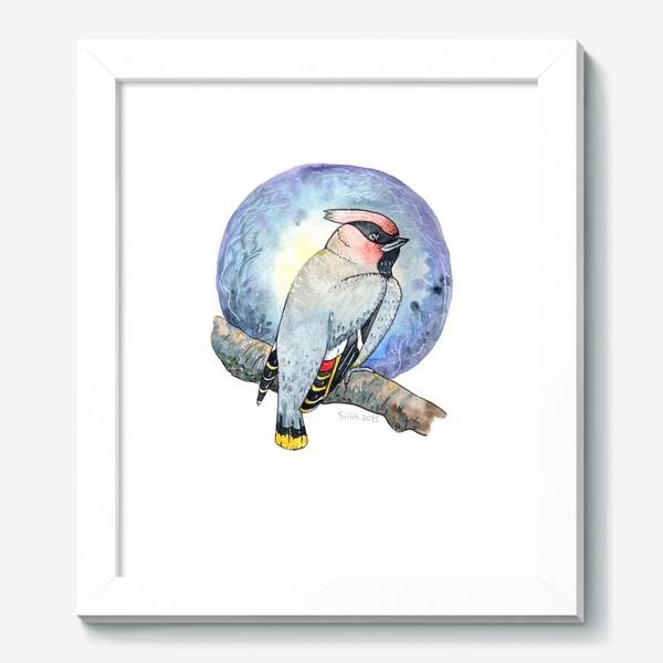 Картина «Птица Свиристель»