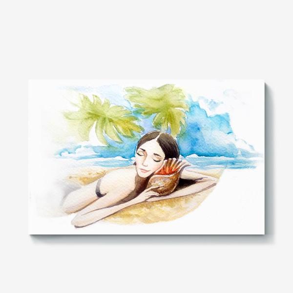 Холст «летние сны»