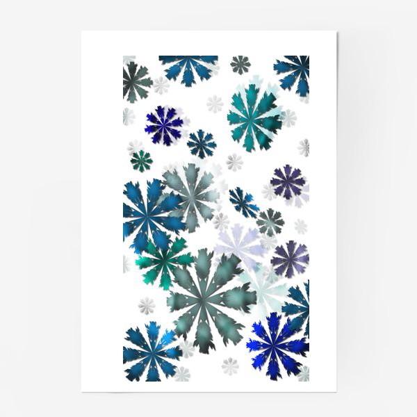 Постер «Let it snow»