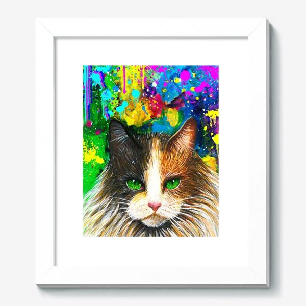 Картина «красочный кот »