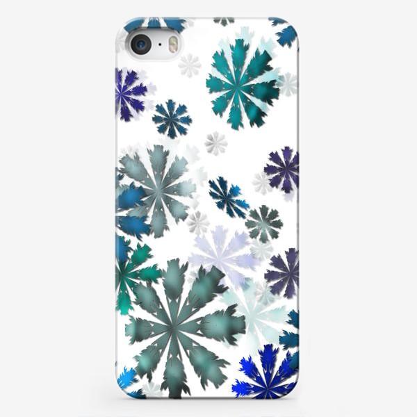 Чехол iPhone «Let it snow»