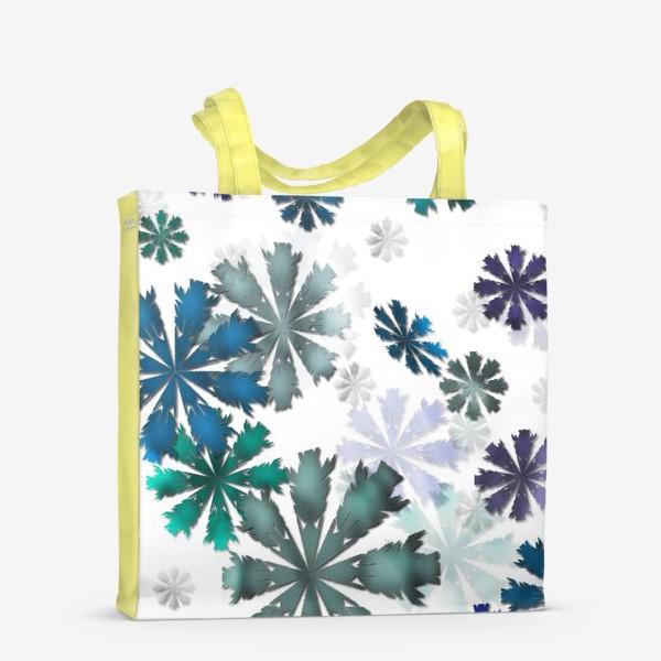 Сумка-шоппер «Let it snow»