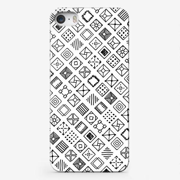 Чехол iPhone «Квадратики»