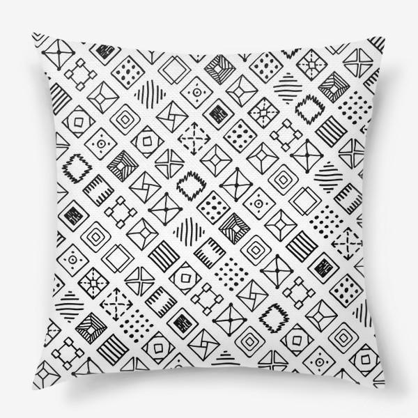 Подушка «Квадратики»
