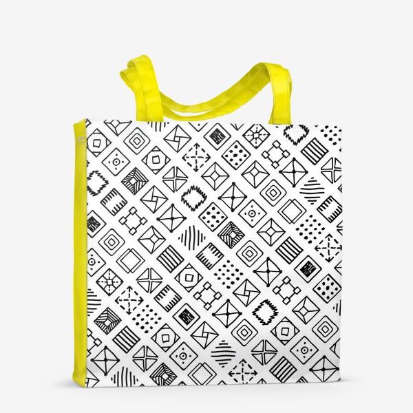 Сумка-шоппер «Квадратики»
