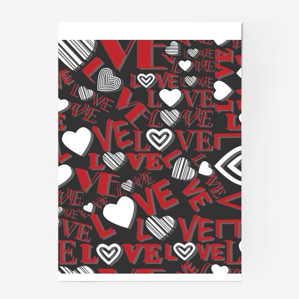 Постер «LOVE»
