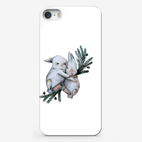 Чехол iPhone «Зайчата»