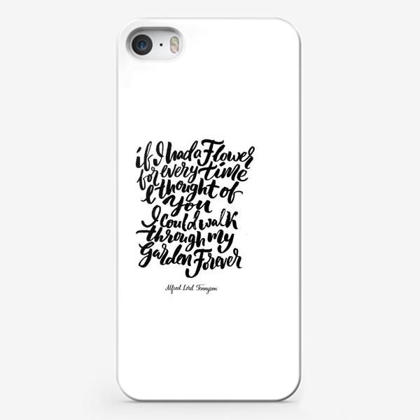 Чехол iPhone «Tennyson»