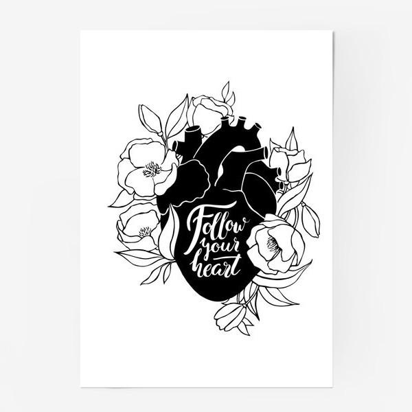 Постер «Follow Your Heart»
