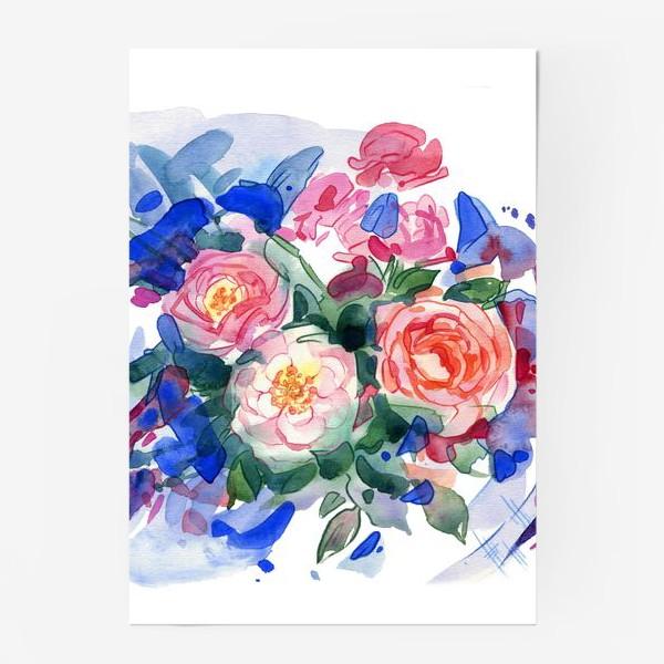 Постер «Цветочный принт»