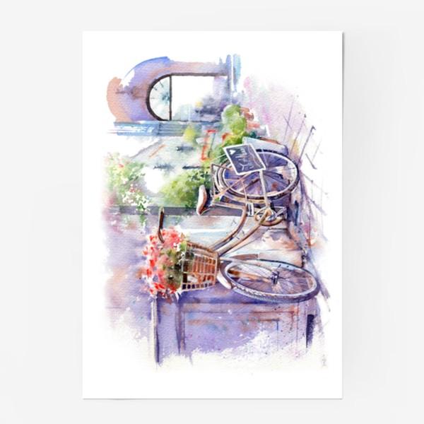 Постер «Велосипед»