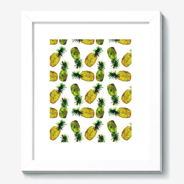 Картина «Зеленые ананасы»