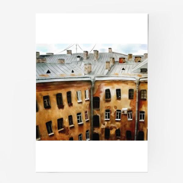 Постер «питерские окна»