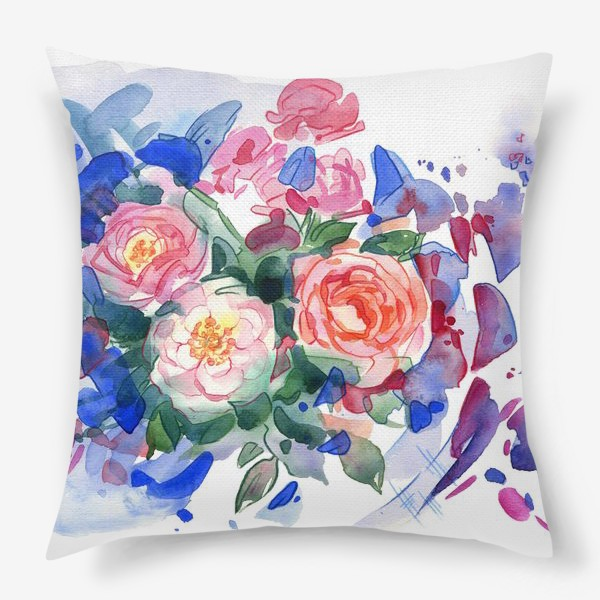 Подушка «Цветочный принт»