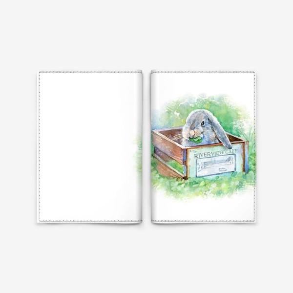 Обложка для паспорта «Кролик»