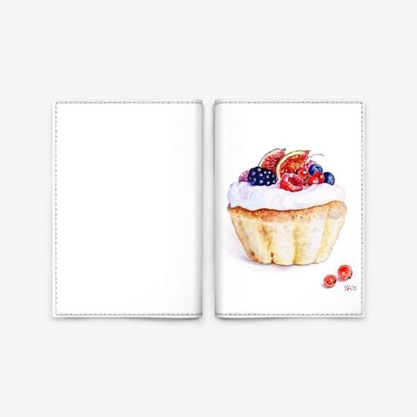 Обложка для паспорта «Кекс»