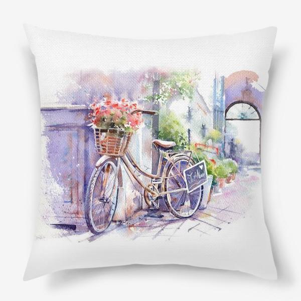 Подушка «Велосипед»