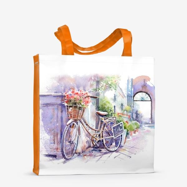 Сумка-шоппер «Велосипед»