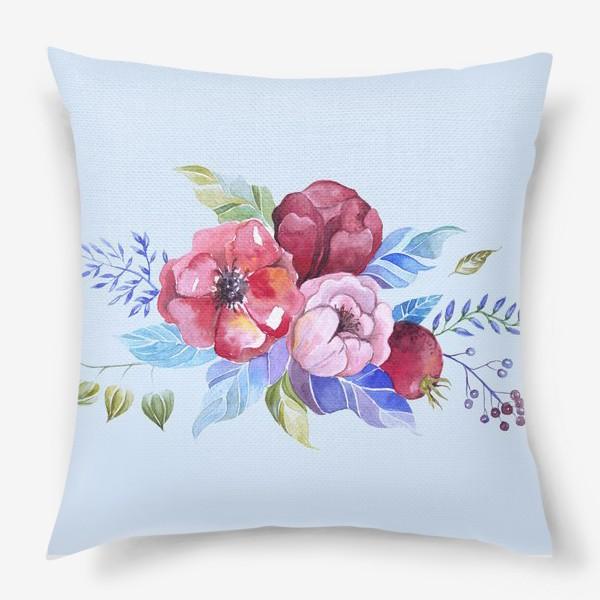 Подушка «Букет весны »