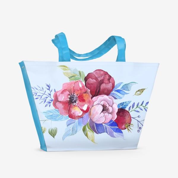 Пляжная сумка «Букет весны »