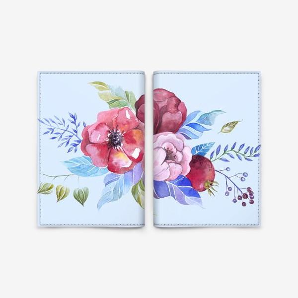 Обложка для паспорта «Букет весны »