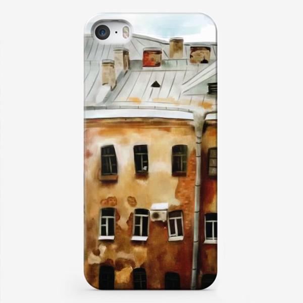 Чехол iPhone «питерские окна»