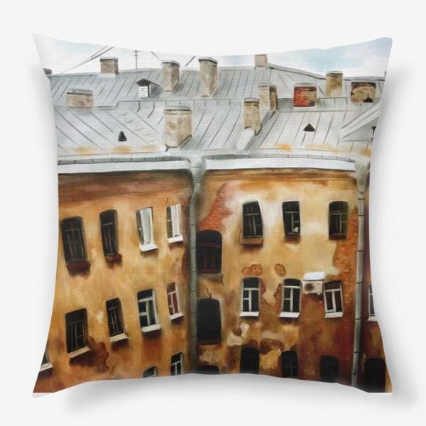 Подушка «питерские окна»