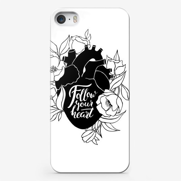 Чехол iPhone «Follow Your Heart»