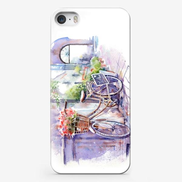 Чехол iPhone «Велосипед»