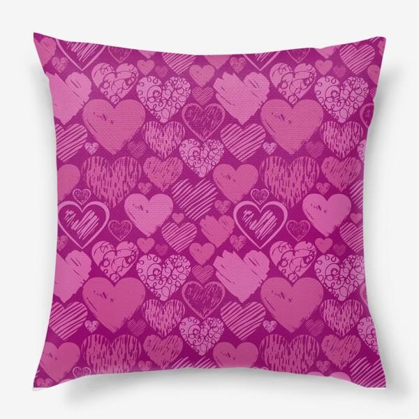 Подушка «Сердца»