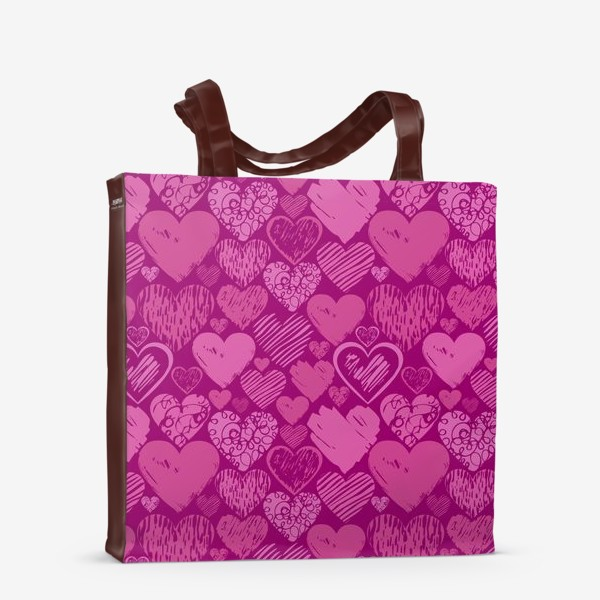 Сумка-шоппер «Сердца»