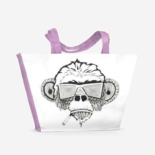 Пляжная сумка «Monkey»