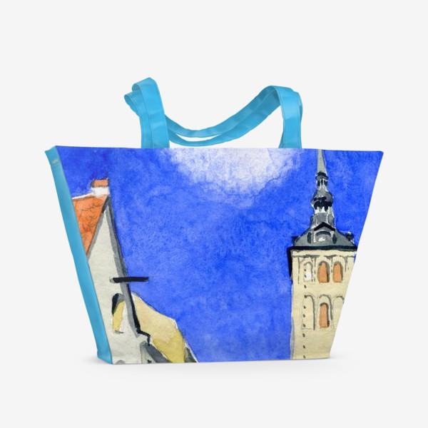 Пляжная сумка «Таллин. Старый город»