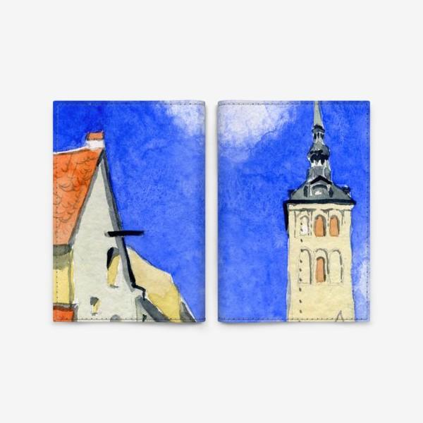 Обложка для паспорта «Таллин. Старый город»