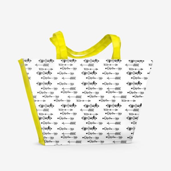 Пляжная сумка «Стрелки»