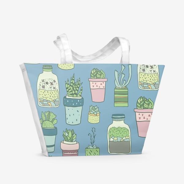 Пляжная сумка «My little garden 2»