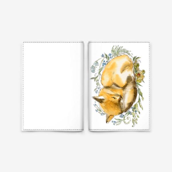 Обложка для паспорта «Лис»