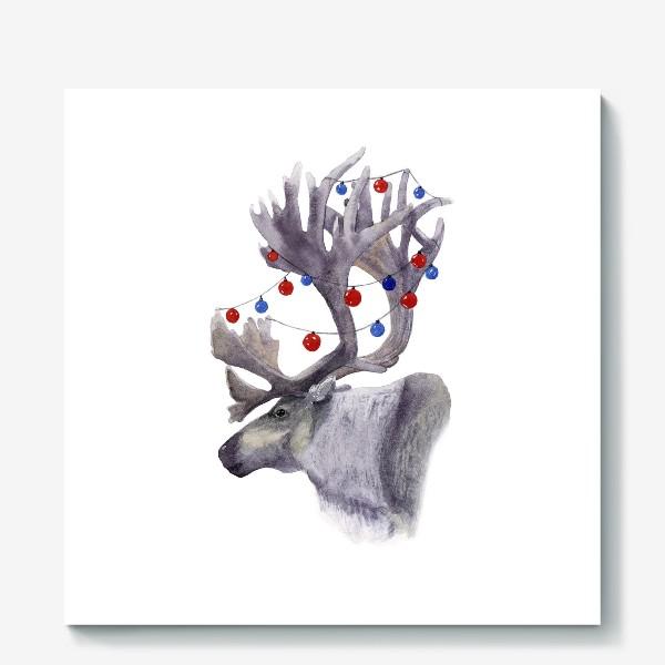 Холст «Северный олень»