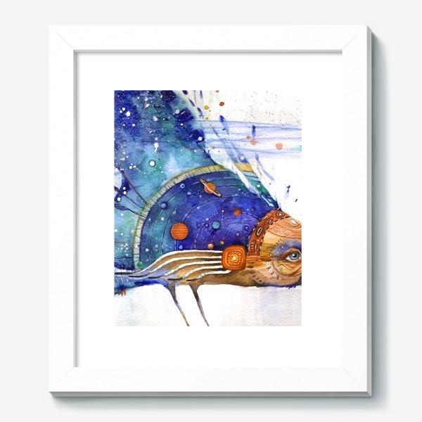 Картина «Космический Ворон, индейский шаман»
