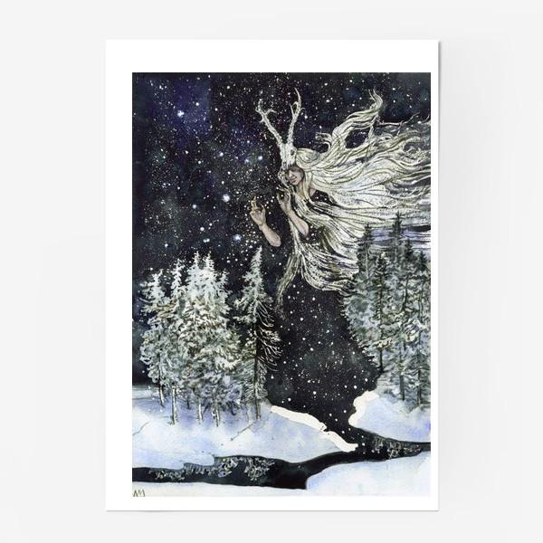 Постер «Зимняя ведьма.»