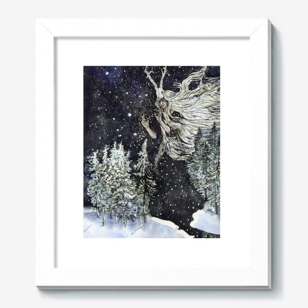 Картина «Зимняя ведьма.»